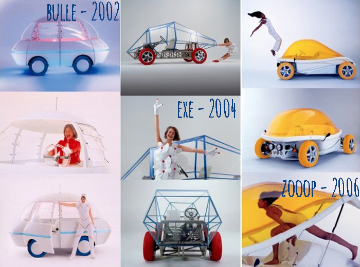 Courreges Cars - Bulle, Exe, Zooop