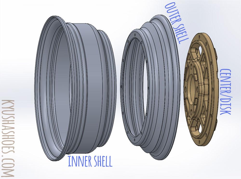 Dunlop TE-E - Modular Parts