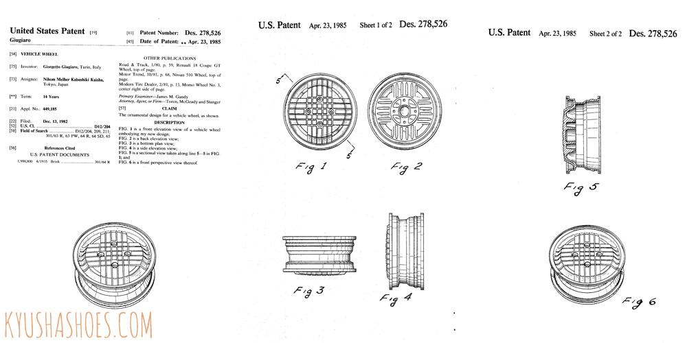 Melber Giugiaro Scacchiera SFF - Patent